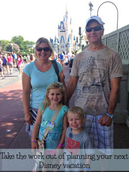 take the work out of your next Disney vacation