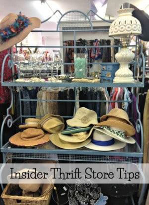10 insider tips for shopping thrift stores