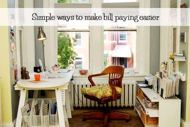 make bill paying easier