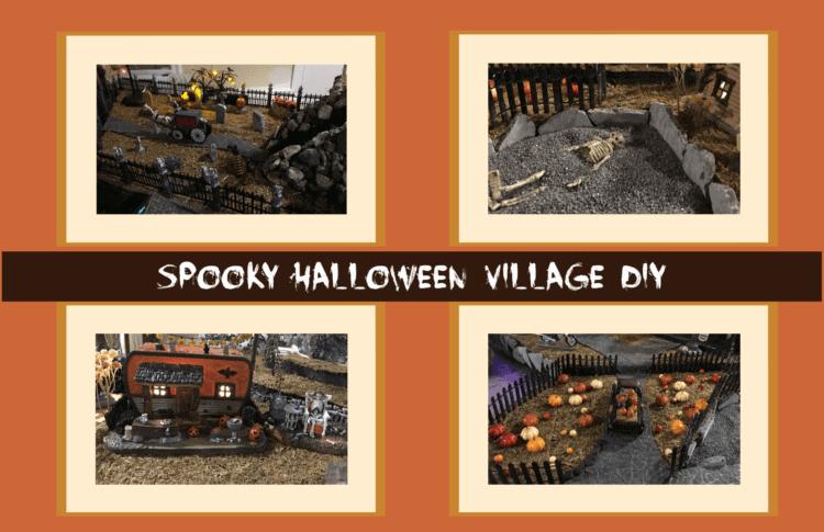 DIY Spooky Halloween Village