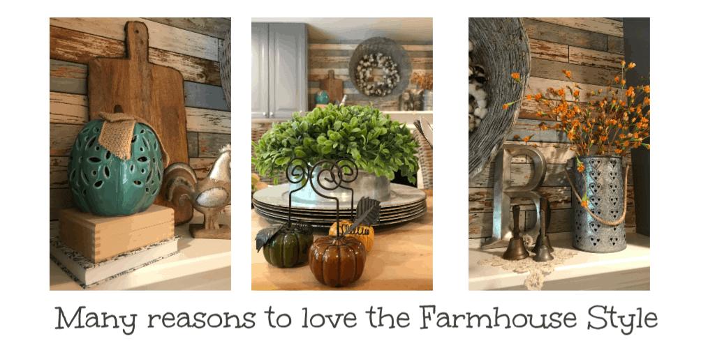 love the farmhouse style