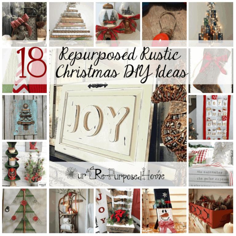 Repurposed Rustic Christmas DIY Ideas
