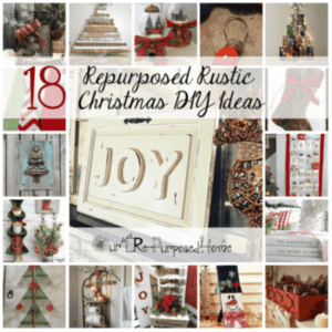 Repurposed Rustic Christmas DIY Ideas
