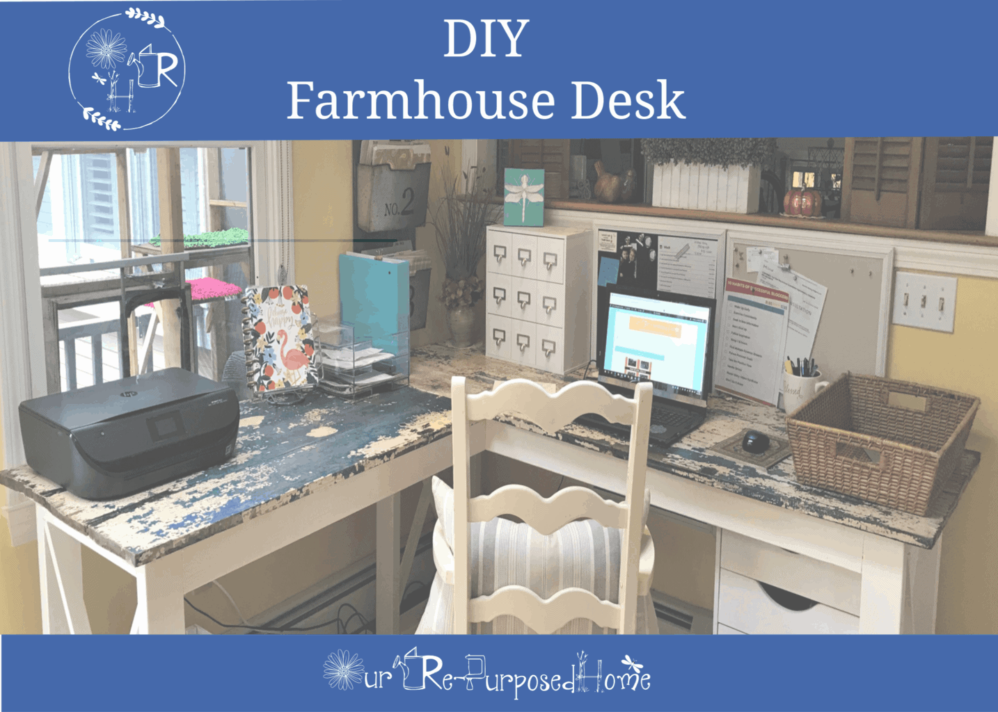 Diy Farmhouse Corner Desk How To Build Your Desk
