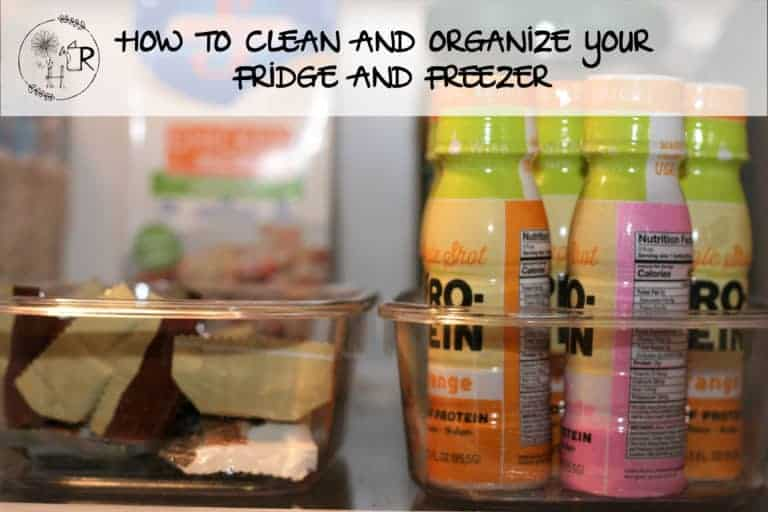 cleaning and organizing your refrigerator and freezer