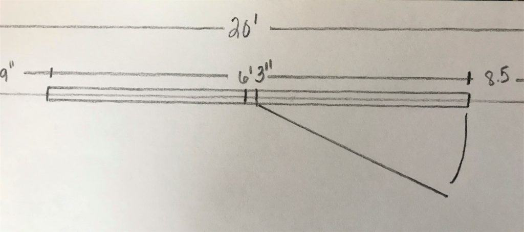 draw a floor plan to scale