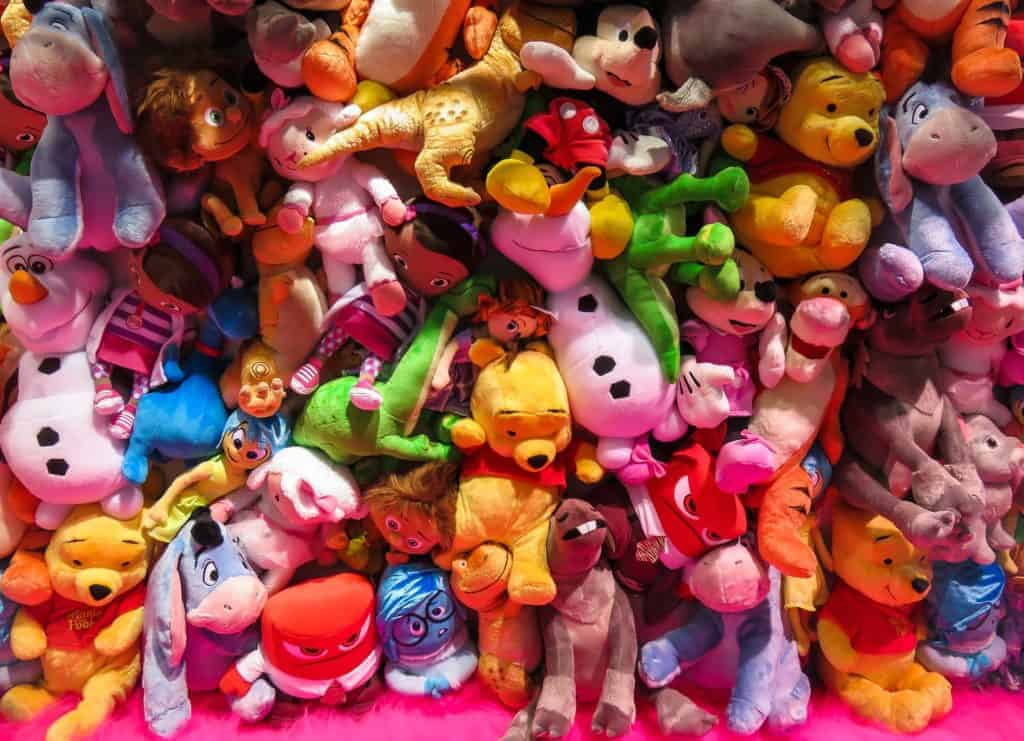 clearing toy clutter-how to make a small room feel bigger