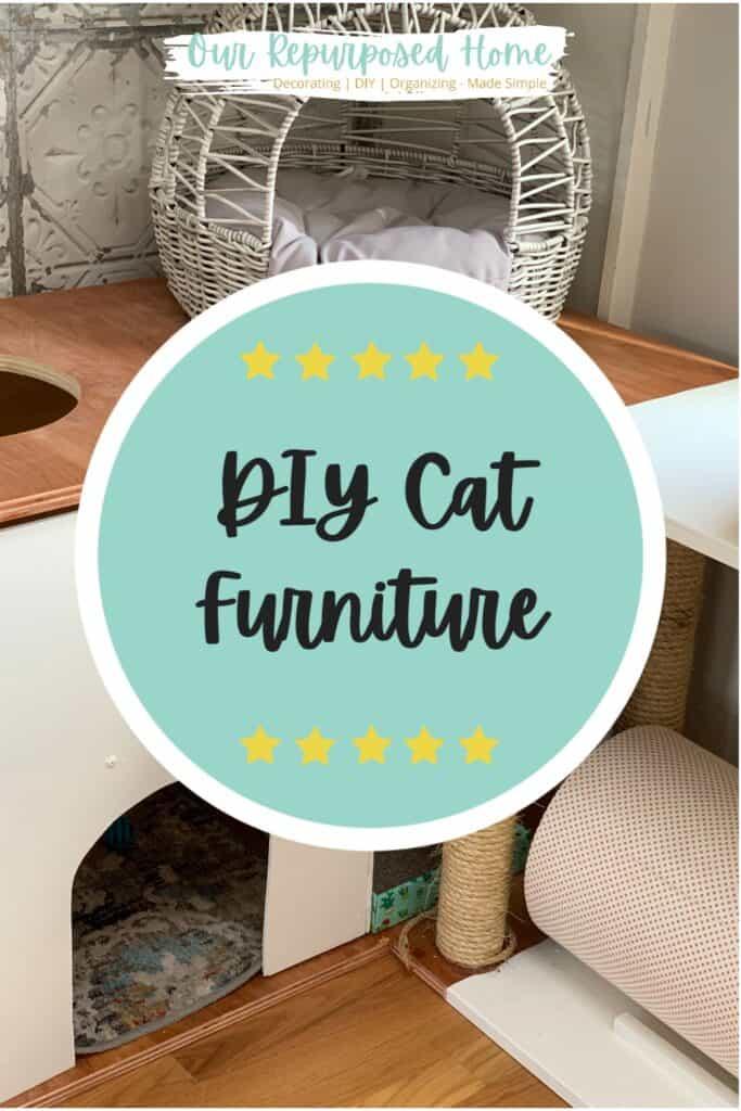pin for DIY cat furniture