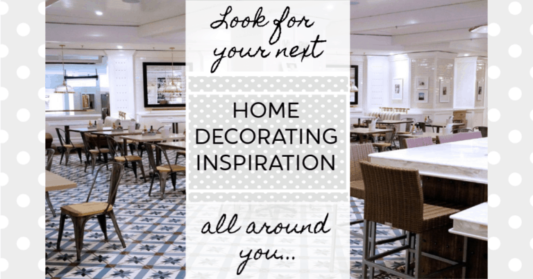 decorating inspiration is all around you