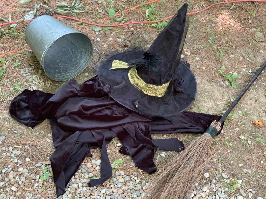 halloween camping wicked witch