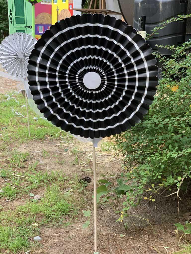 halloween camping pinwheel