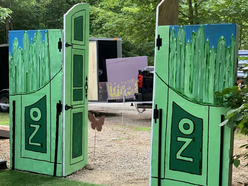 halloween camping gates of oz