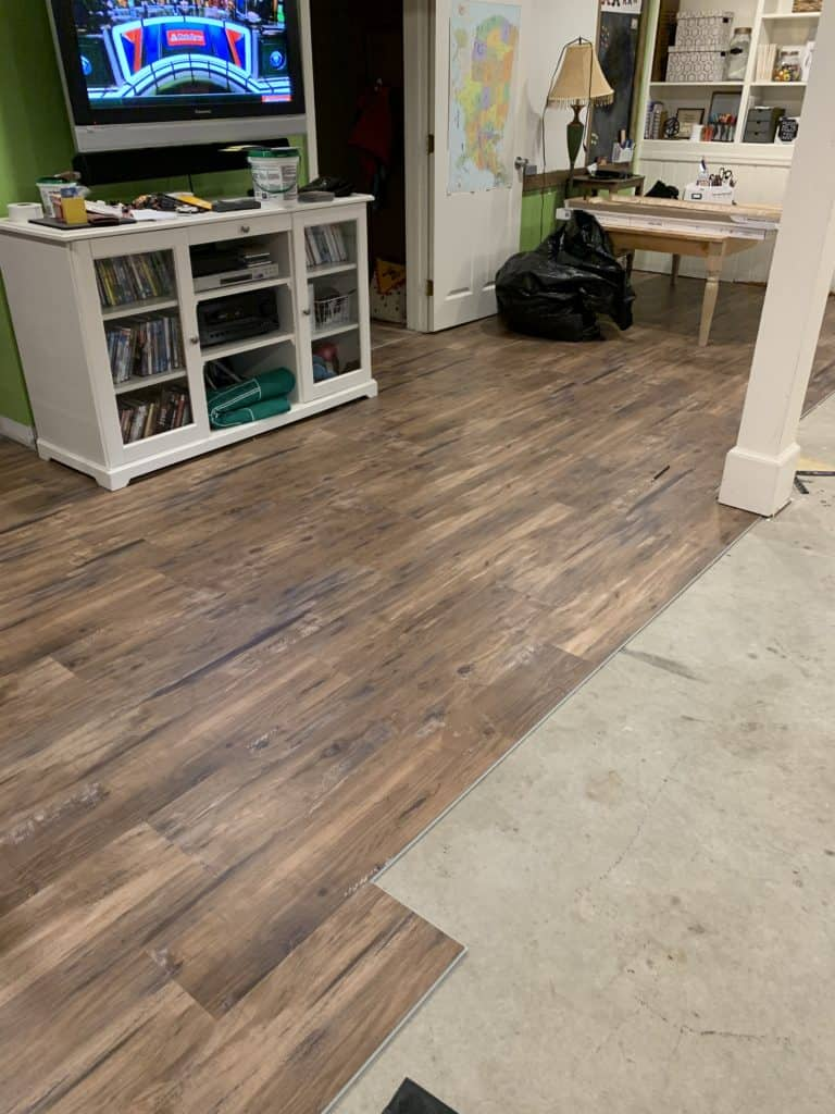 how to install vinyl plank flooring.