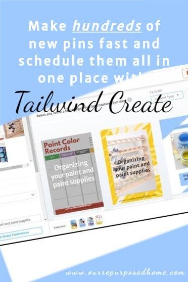 Tailwind Create Pin image