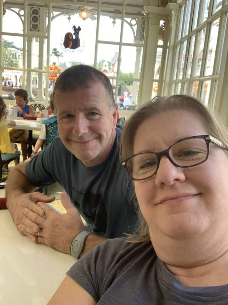 Dining at Tony's Town Square - Disney World during Covid