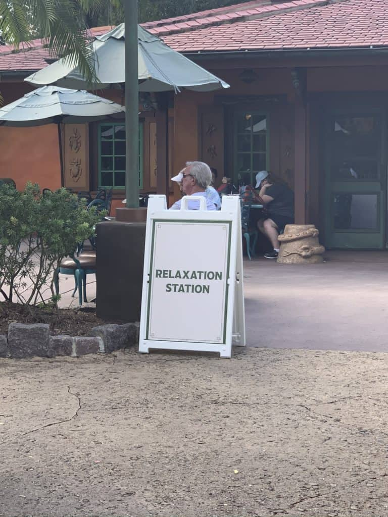 Relaxation Station in Disney World