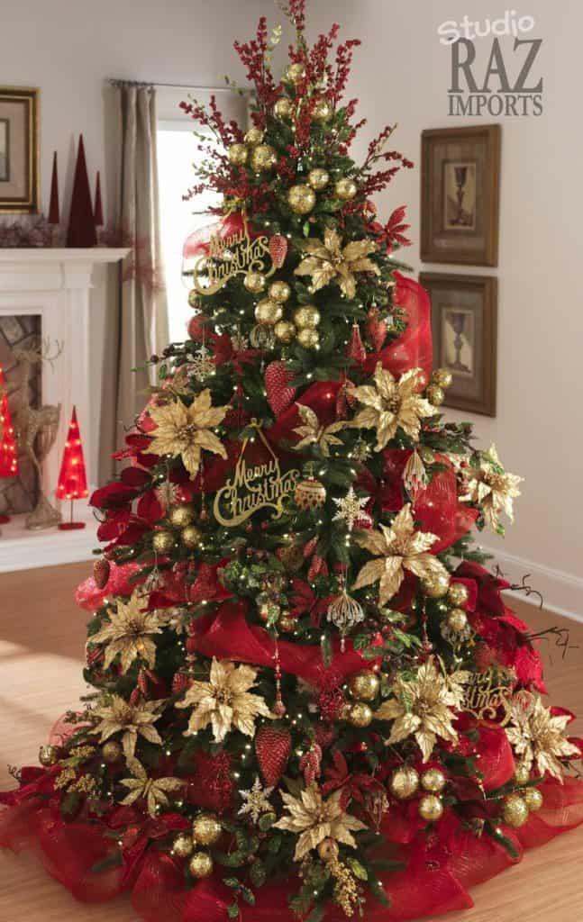 decorated Christmas tree