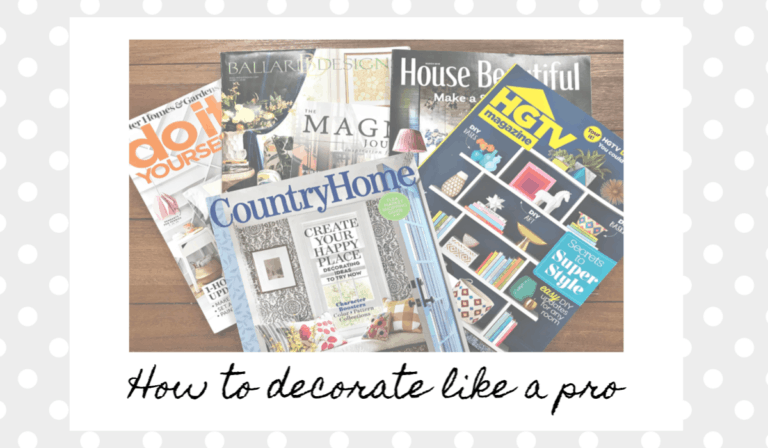 how to decorate like a pro magazine covers