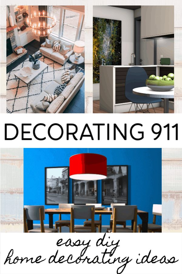 examples of decorating fixes - easy DIY home decorating ideas