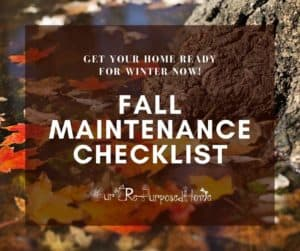 pin for fall maintenance