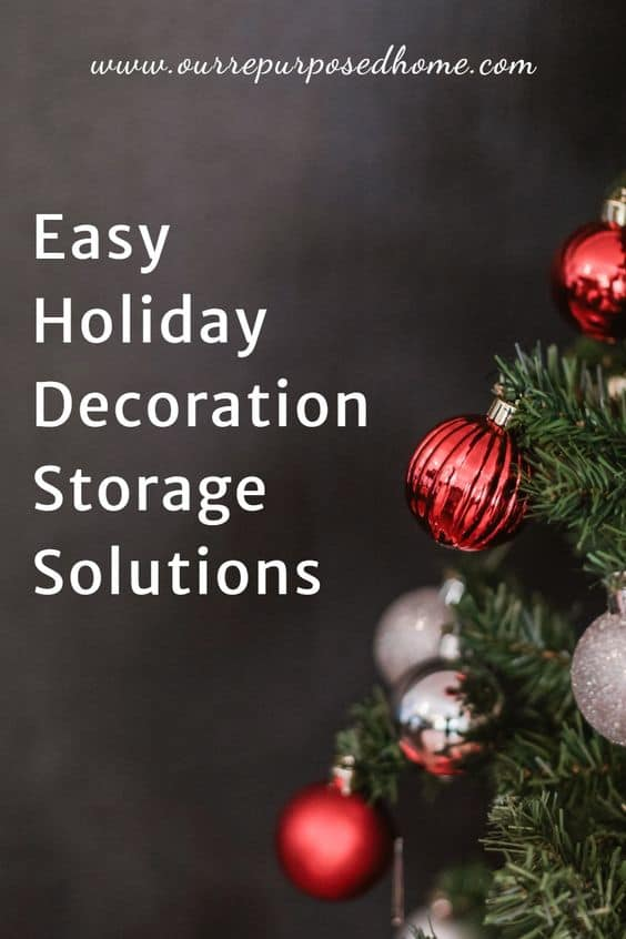 holiday storage ideas
