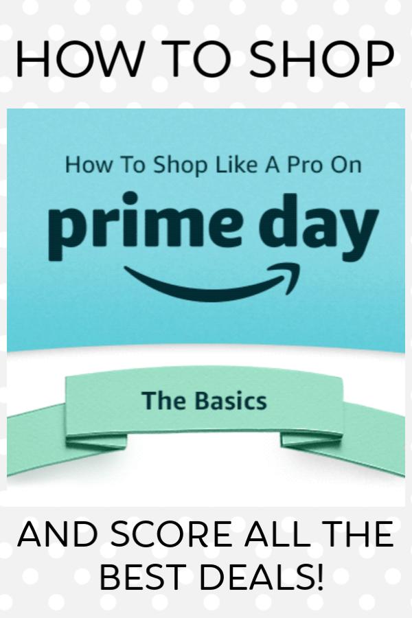 Pinterest pin for shopping Amazon Prime Day